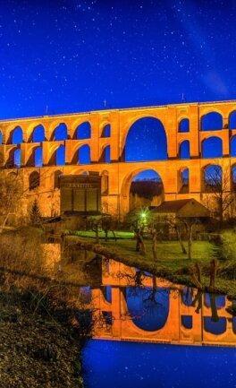 Die Göltzschtalbrücke bietet einen prächtigen Anblick. Wenn alles gut geht, wird das Bauwerk in einigen Jahren Unesco-Welterbe.