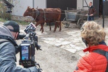 Wolkenburg wird zur Kulisse für Dorfleben-Reportage