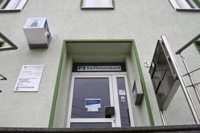 Mitte nächster Woche schließt die Raiffeisenbank-Filiale in Mühlau.