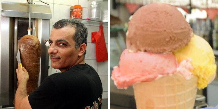 Verlierer: Fleischverkäufer - Gewinner: Eisverkäufer