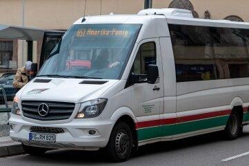 Versuch gescheitert - Ende 2018 gingen die beiden Peniger Stadtbuslinien 651 und 653 in Betrieb. Ende Juli 2020 war wegen zu geringer Nachfrage Schluss.