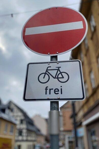 Radfahren wird beliebter in Stollberg. Die Stadt hat das offenbar erkannt. Die Freigabe von Einbahnstraßen ist ein einfaches Mittel.