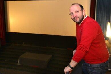 Der Betreiber der Filmbühne Mittweida, Andreas Ronneberger, rechnet noch mit Zuschüssen des Bundes unter anderem für neue Leinwände in den drei Sälen des Lichtspielhauses.