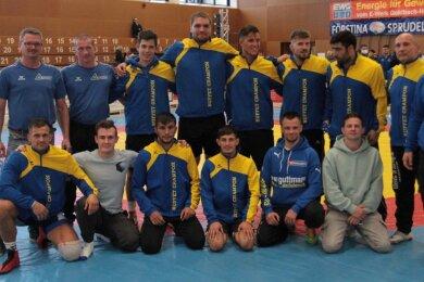 Freudige Gesichter gab es im Markneukirchener Team nach dem gelungenen Saisonauftakt in Hösbach zu sehen.