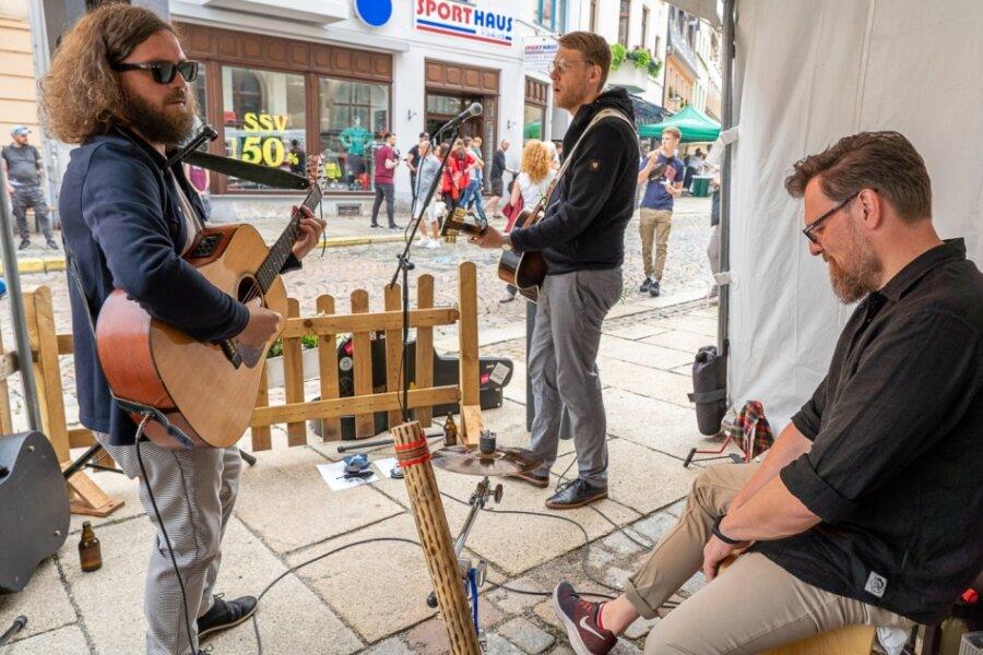 Plauener Band Zami eröffnet Kulturelle Einkaufsnacht