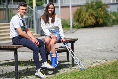 Turnerin Lisa Zimmermann und Radsprinter Nicolas Heinrich sind vom Chemnitzer Sportgymnasium als Elitesportler der Jahre 2019 (Heinrich) und 2020 (Zimmermann) geehrt worden. Beide haben mit sportlichen Erfolgen und guten schulischen Leistungen überzeugt.