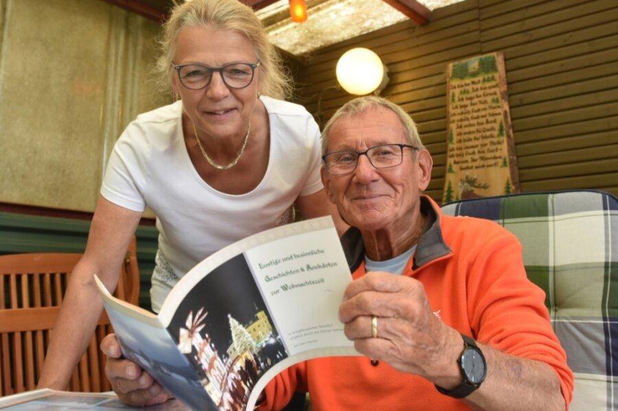 Gelebte Zweisprachigkeit in der Familie: Gerd-Günter Paschen ist Erzgebirger und pflegt diesen Zungenschlag genauso, wie seine Ehefrau Irmgard aus der Alpenregion das Bayerische spricht. In Lindenau besitzt die Familie ein Ferienhäuschen, von wo aus es oft durchs Erzgebirge geht.