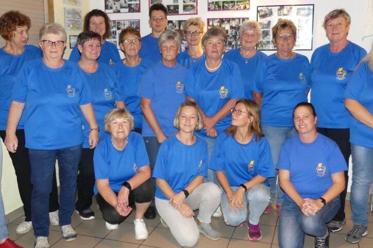 Die Dänkritzer Frauensportgruppe feiert in diesem Jahr Vereinsjubiläum.