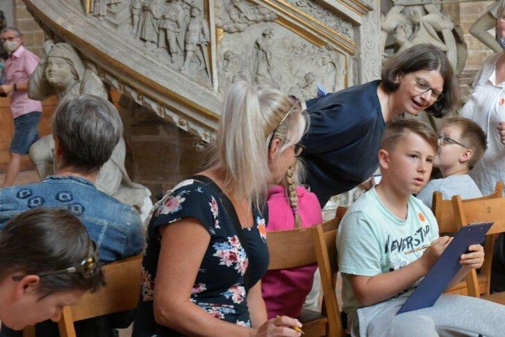Den Freiberger Dom entdecken: Schau genau!