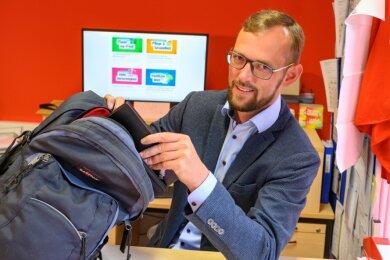 Tim Detzner will im Herbst für Die Linke in den Deutschen Bundestag einziehen.
