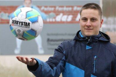 Dominik Anders freut sich riesig auf seinen Auftritt im ZDF-Sportstudio. Mindestens einen Treffer hat er sich vorgenommen.