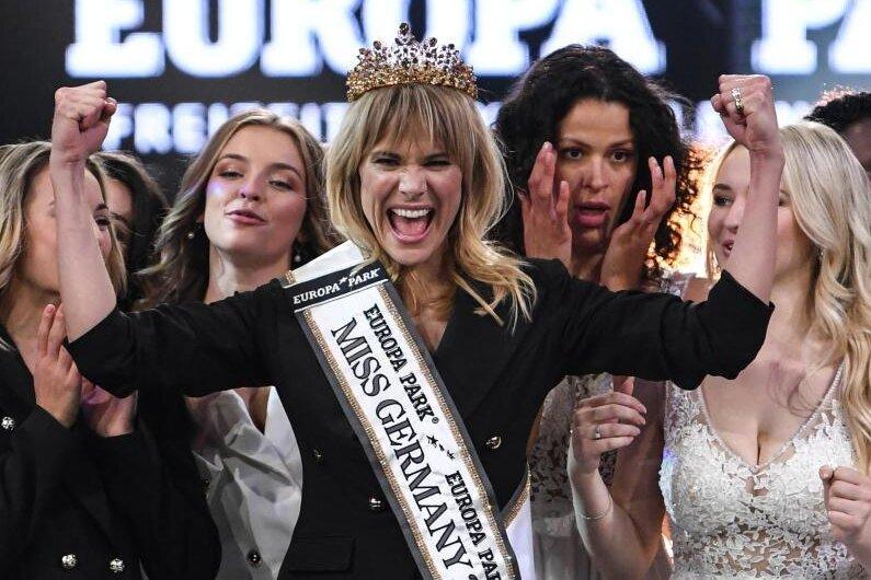 Die Wahl von Leonie Charlotte von Hase (M) zur «Miss Germany» 2020 war ein Wendepunkt.