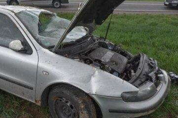 Am Fahrzeug entstand erheblicher Schaden.