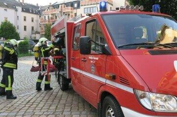 Einen Feuerwehreinsatz hat es in der Auer City gegeben.