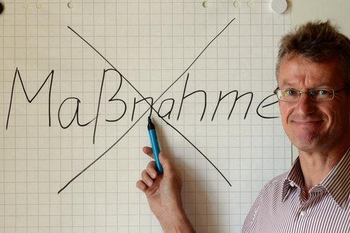 Der Sprecher des brandenburgischen Infrastrukturministeriums, Lothar Wiegand.