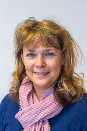Heike Schreiter, Leiterin von Eltern-Kind-Kursen im Familienzentrum Annaberg-Buchholz