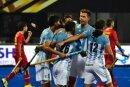 Argentinien überzeugt bei der Hockey-WM in Indien