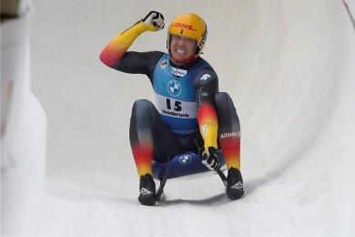 In Innsbruck feierte Felix Loch am vergangenen Wochenende seinen 40. Weltcupsieg, den ersten nach 22 Monaten Pause. In Altenberg soll nun gleich der 41. folgen.
