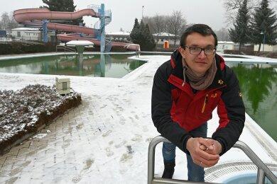 Badbetreiber Casten Dietzsch möchte das Bad gern auch für Vereine attraktiv machen. Zudem plant er früh vor der Öffnung Aquafitnesskurse. Und: Das Bad wird ab 15. Mai die gesamte Saison geöffnet haben, unabhängig vom Wetter.