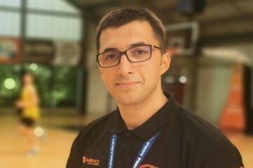 Gjorgji Kochov ist neuer Co-Trainer des Basketball-Bundesligisten Niners Chemnitz.