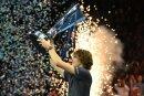 Alexander Zverev gewann zum ersten Mal das ATP-Finale