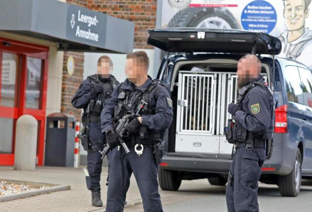 Am Mittwoch wurde der Kaufland-Kompex in Hohenstein-Ernstthal evakuiert.