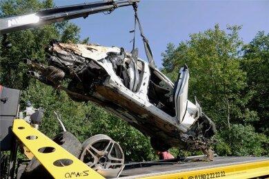Am 16. August gegen 5 Uhr ereignete sich auf der A4 zwischen Siebenlehn und Berbersdorf ein tödlicher Unfall mit einem Mercedes. Foto: Härtelpress/Archiv