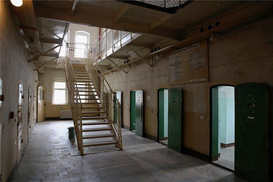 Blick in die ehemalige Frauenhaftanstalt Hoheneck.
