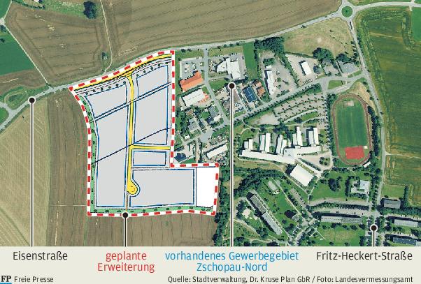 Gewerbegebiet: Nur kleiner Schritt zum Baurecht