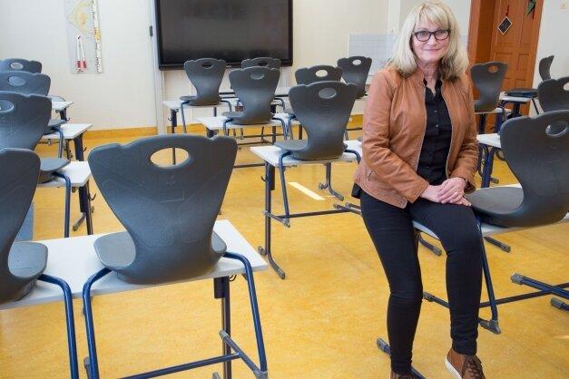 Petra Richter unterrichtet an der Oberschule Olbernhau Englisch und Deutsch. Außerdem ist sie Beratungslehrerin.