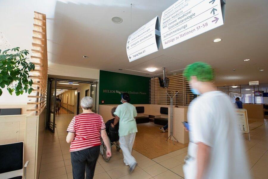 Die neue Portalpraxis ist über das Haus 4 des Plauener Helios-Klinikums erreichbar: Hier werden akut kranke Kinder sowie Erwachsene künftig versorgt.