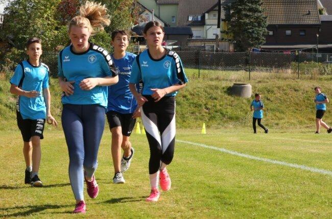 In der Goethe-Schule Breitenbrunn wird in diesem Jahr nicht nur das deutsche Laufabzeichen abgelegt, die Bildungseinrichtung beteiligt sich mit kleinen sportlichen Events auch am Hospizlauf.