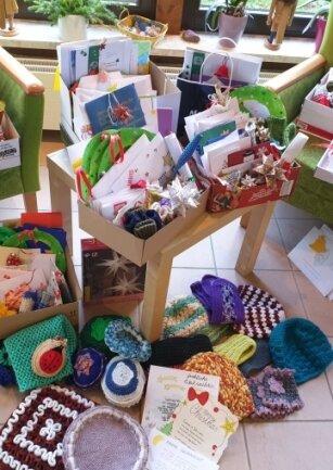 Zahlreiche Geschenke gingen für die Senioren ein.