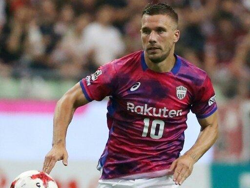 Podolski verliert bei Kobe zum fünften Mal in Folge