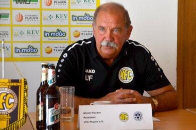 Der Vorstandsvorsitzende Ulrich Fischer ist beim Fußball-Oberligisten VFC Plauen am Sonntagabend zurückgetreten.