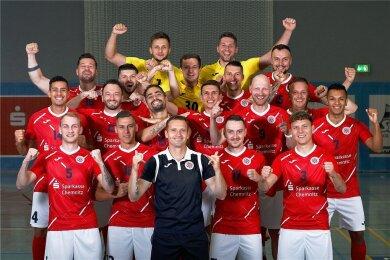 Das Team von HOT 05 Futsal Hohenstein-Ernstthal hat den Start in die Bundesliga lange herbeigesehnt.