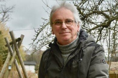 Michael Nessmann ist Pleißer Ortschaftsrat und wurde für 30 Jahre Kommunal-Engagement geehrt.