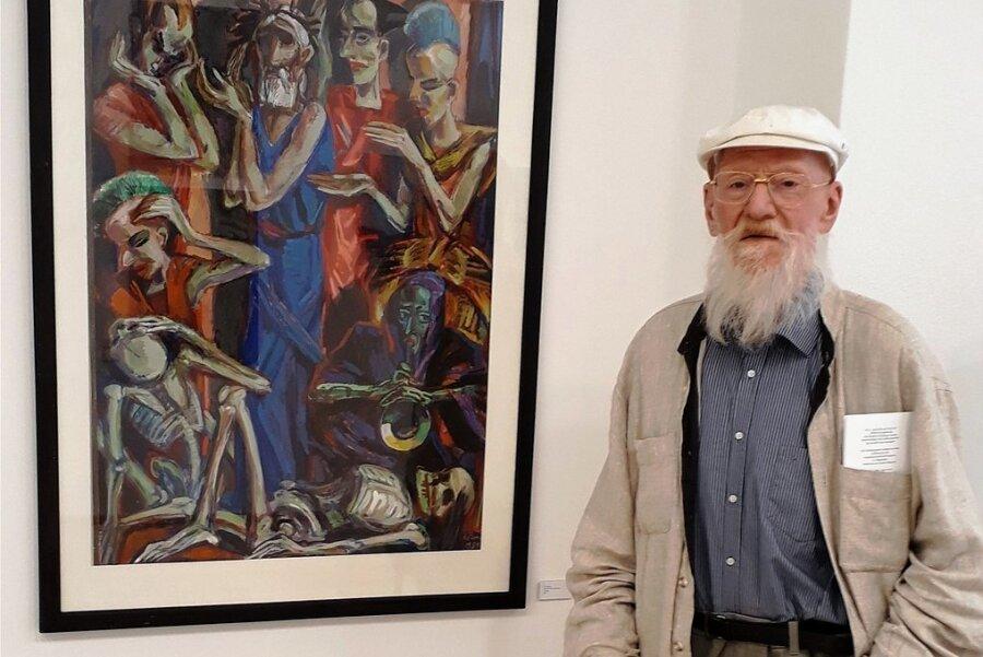 Im Republikpalast gemalt: Künstler  Ronald Paris 88-jährig verstorben