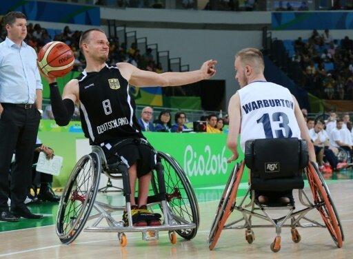 Die deutschen Rollstuhlbasketballer sind ausgeschieden