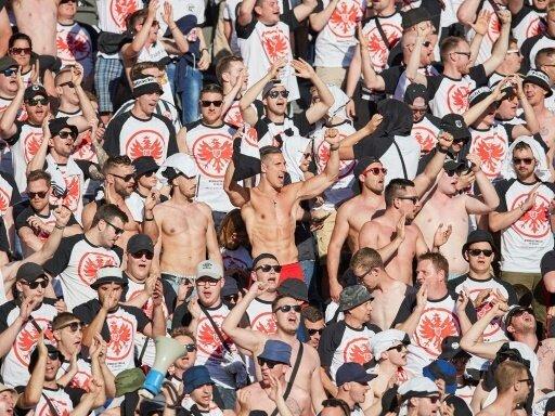 Einige Frankfurter Fans sind negativ aufgefallen