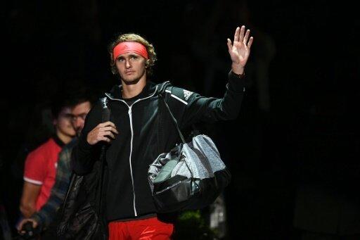Alexander Zverev ging mit Rückenproblemen ins Match