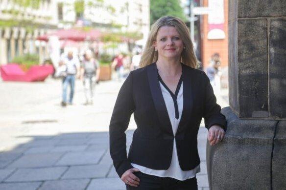 OB-Kandidatin Susanne Schaper tritt auch im zweiten Wahlgang wieder an.