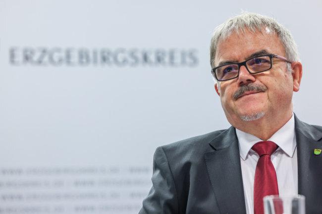 Frank Vogel (CDU), Landrat des Erzgebirgskreises.