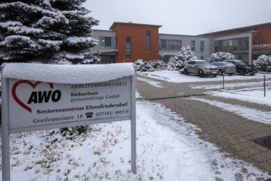 Zehn Soldaten haben im Awo Seniorenzentrum in Ehrenfriedersdorf ausgeholfen.