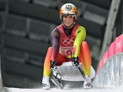 Natalie Geisenberger steuert auf die Goldmedaille zu