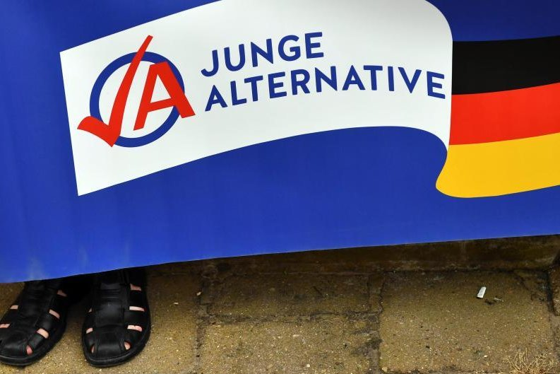 AfD-Jugend wird zum Problem für Sachsens Beamte
