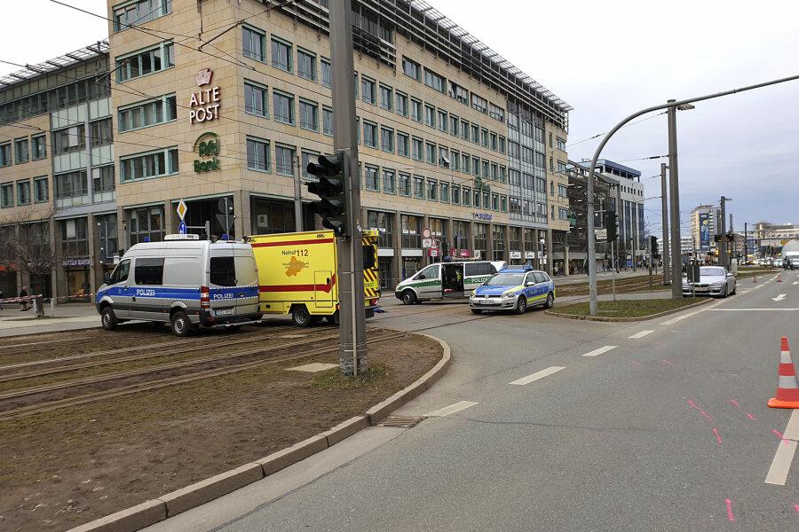Die Verkehrspolizei Chemnitz hat die Ermittlungen aufgenommen.