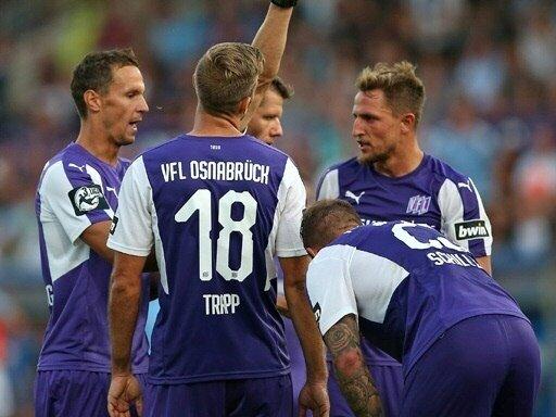 Osnabrück kam in Rostock nicht über ein 1:1 hinaus