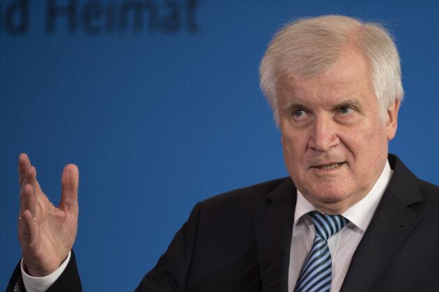 Horst Seehofer (CSU), Bundesminister für Inneres, Heimat und Bau.