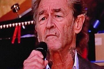 Peter Maffay sang Donnerstagabend als Überraschungsgast.
